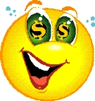 Dollar smiley
