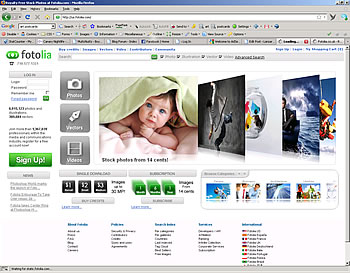 fotolia photo library